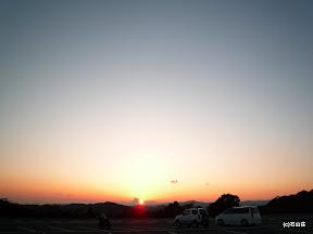 2009/11/25の夕景です。鳥羽展望台からの一枚です。