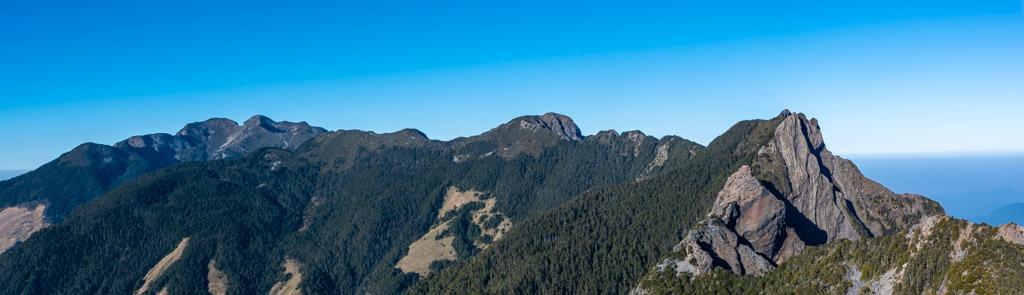 武陵四秀──聖稜線