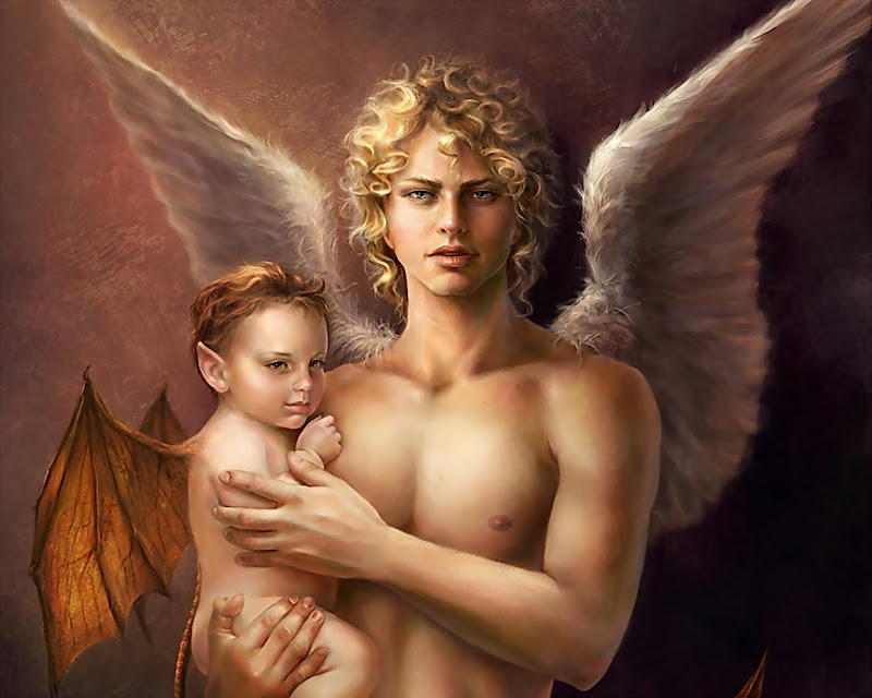 Charming Angel Baby, Angels