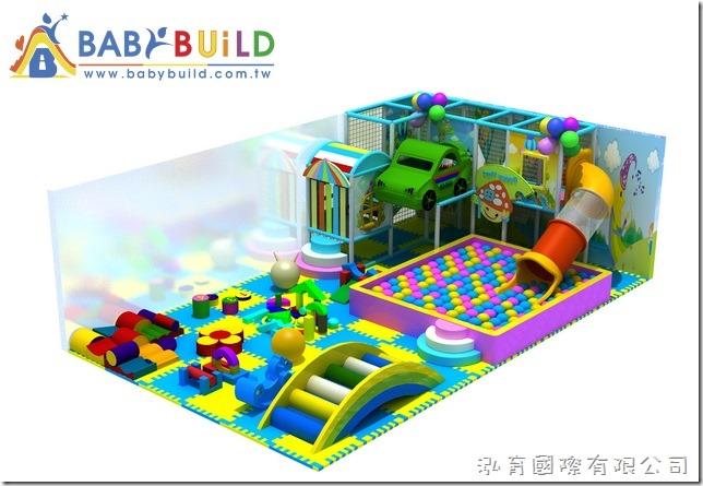 BabyBuild 室內3D泡棉鋼管遊具