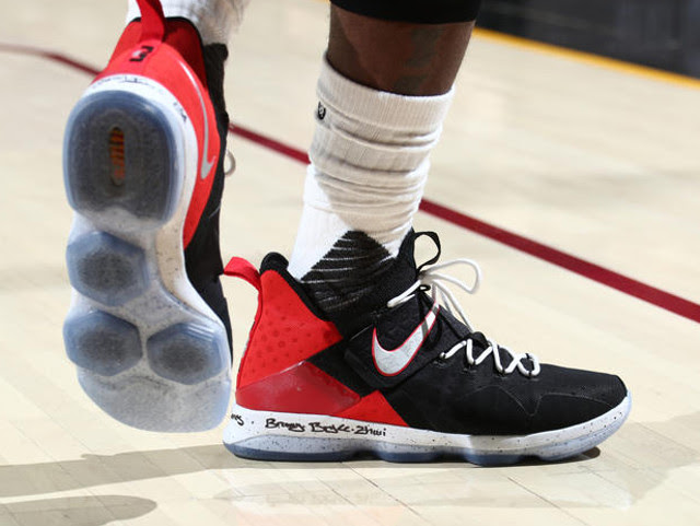 LeBron James Leads Cavs to 20 Series Lead in Nike LeBron 14 PE ...
