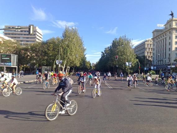 El eje ciclista de la Castellana ¿una inversión de las empresas de la zona?