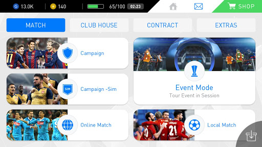 Download PES 2017 APK + OBB For Android 7
