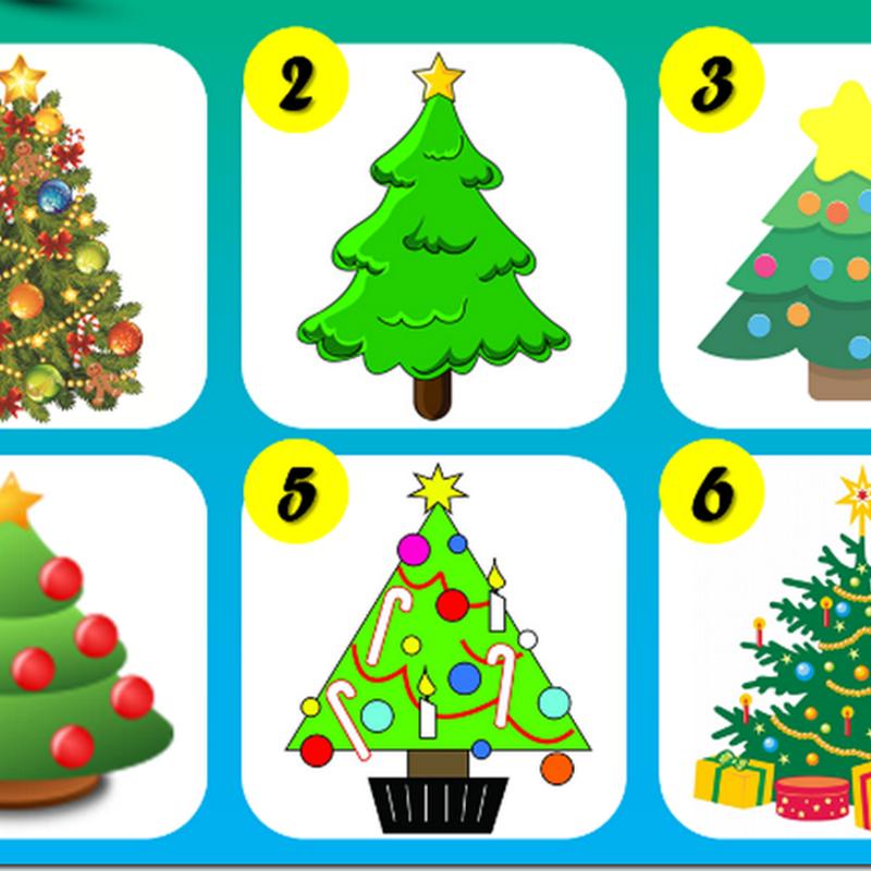 El test del árbol de Navidad, te revela algo intimo