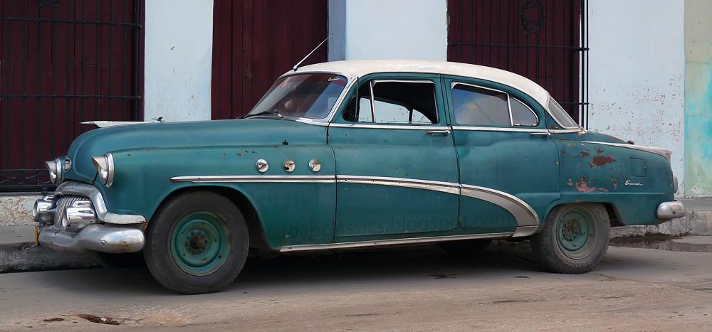 1952 buick special 4 door tourback sedan cubanclassics for 1952 buick special 2 door