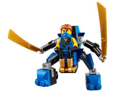 Xếp hình Lego Ninjago 30292 Rô bốt điện Jay NanoMech