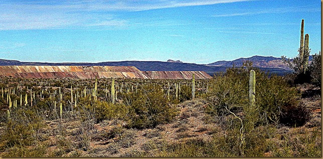 Ajo Open Pit Mine tailings