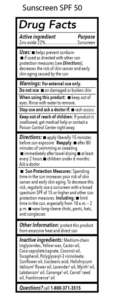 Drug Facts_Sunscreen SPF 50