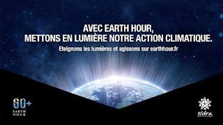 L'Algérie célèbre l'évènement planétaire Earth Hour en réduisant les lumières le samedi 19 Mars de 20h30 à 21h30