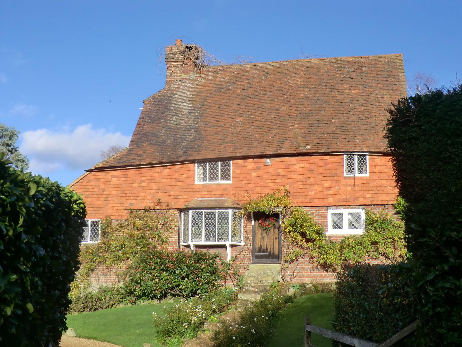CIMG1827 Wealden house on Bullingstone Lane