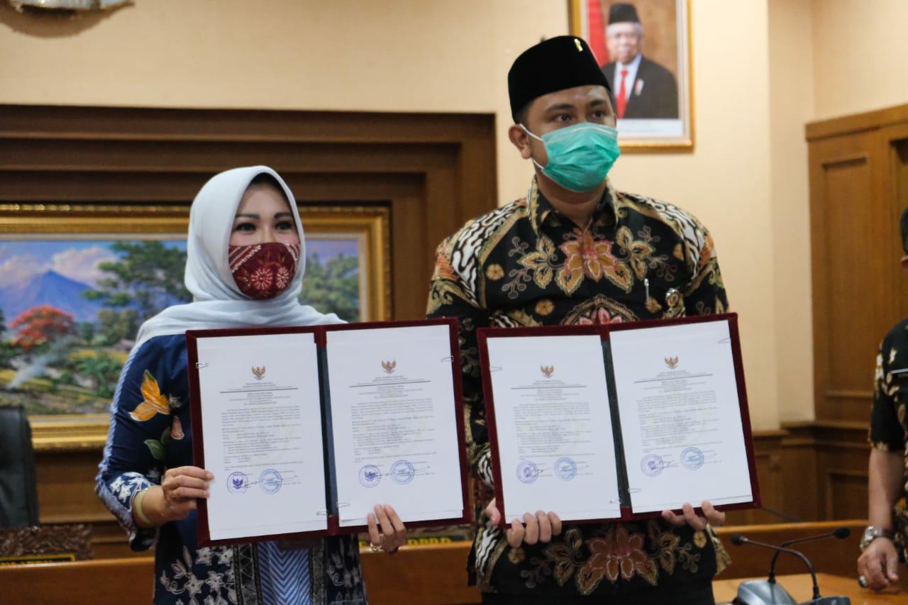 Rekor, Klaten Raih WTP ke Duakalinya Dimasa Kepemimpinan Bupati Sri Mulyani