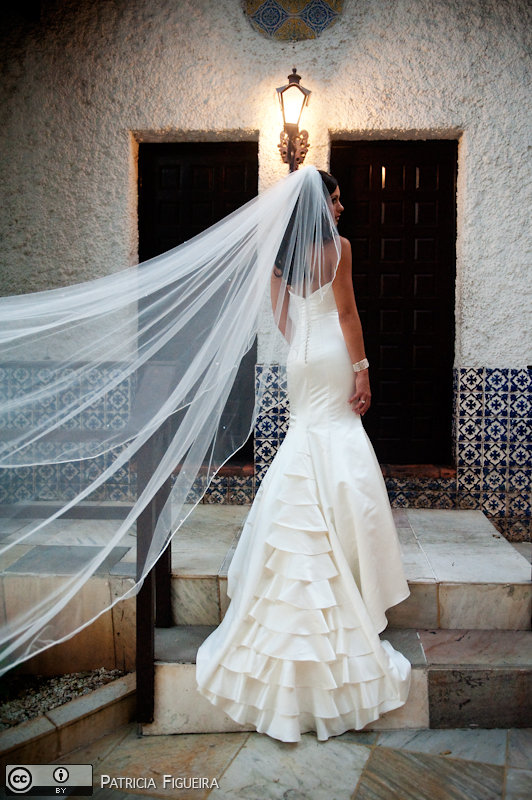 Foto de casamento 0270 de Monique e Joel. Marcações: 04/09/2010, Casamento Monique e Joel, Fotos de Vestido, Rio de Janeiro, Vestido, Vestido de Noiva.