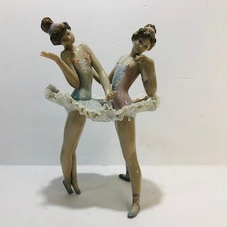 Lladró Ballerinas Figurine