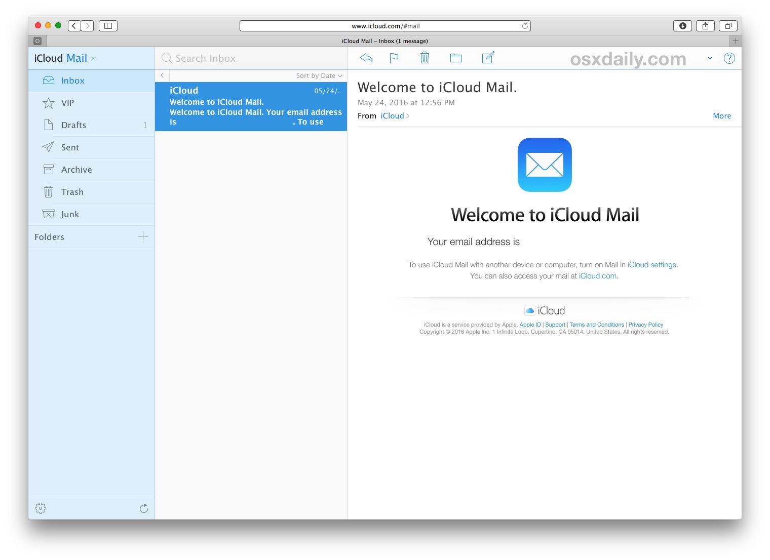 Hướng dẫn đăng ký và sử dụng tài khoản iCloud Mail