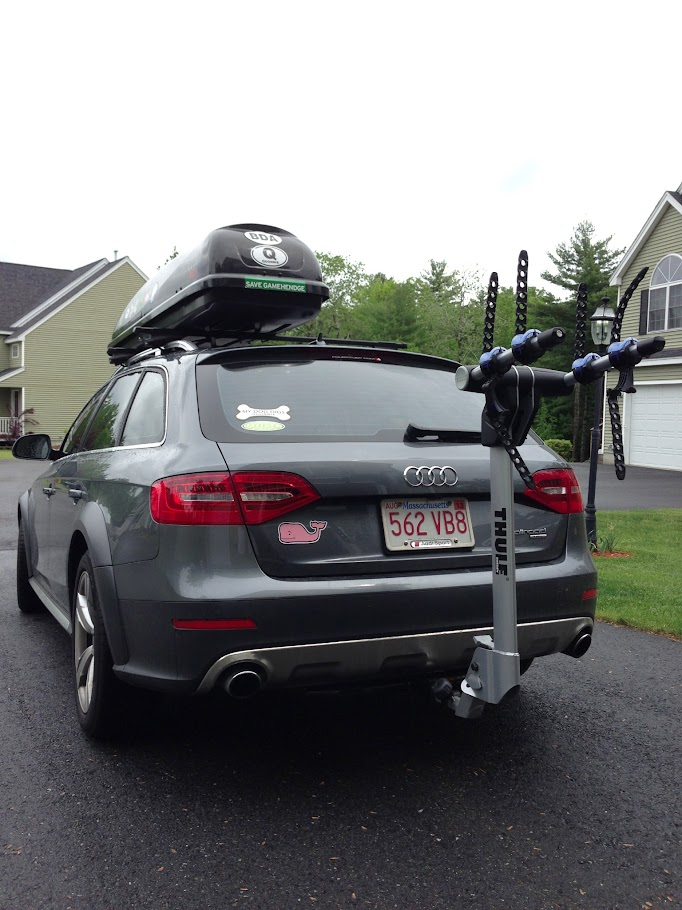 Vwvortex Com Hitch Installed On 2013 Allroad