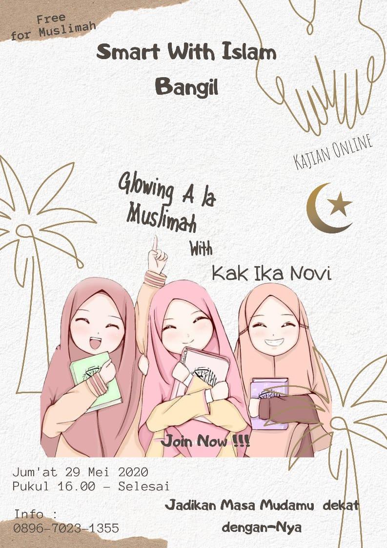 "Berbagi Ilmu via online ""Make up Ala Muslimah"""