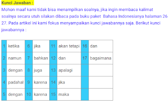 Kunci jawaban tema 9 kelas 6 halaman 2, 3, 4, 5, 6, 7, 8, 9, 10, 11, 12, 13 buku tematik sd. Kunci Jawaban Bahasa Indonesia Kelas 9 Kegiatan 3 Latihan Kebahasaan Halaman 25 26 27 Ilmu Edukasi