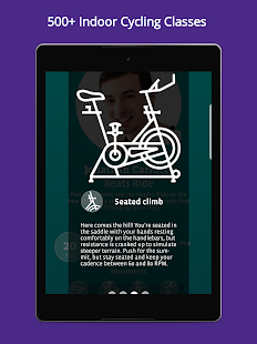 CycleCast - Indoor Cycling Workouts for Any Bike- screenshot thumbnail
