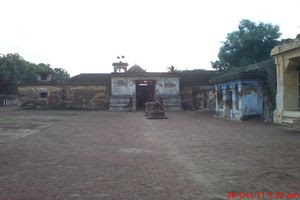 Thiruvilanagar (Thuraikattum Vallalar) Temple Entrance View