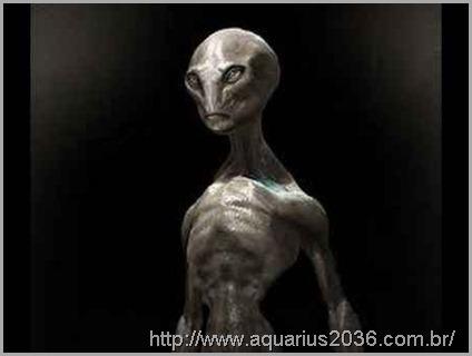 Extraterrestres greys altos denominados também de reptilianos.