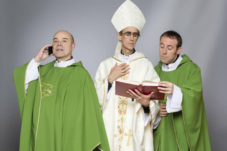 El trío angelical : Antonio Resines, Antonio Molero y el Obispo