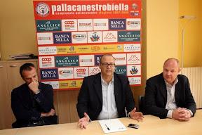 Biella, l'appello di Angelico: 'Capisco la delusione di alcuni tifosi ma e' il momento di stare vicini alla squadra'