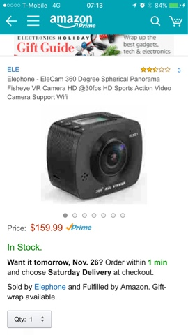 DEALS: the lowest cost spherical 360 cameras at $140 to $160