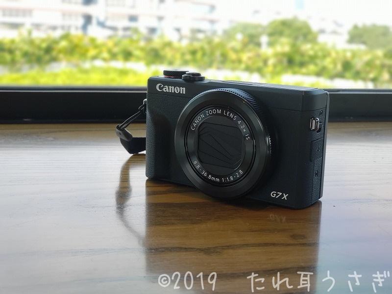 Canon G7X mark3を買ったのでレビュー 作例やLive配信の設定・4K動画について