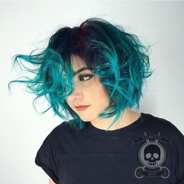 33 best green hair dye ideas that you will love hairstyles 19 personally i wouldnt go for the hair color but i mean if you are up for the neon shades you can go for this green this is a color that you must solutioingenieria Choice Image