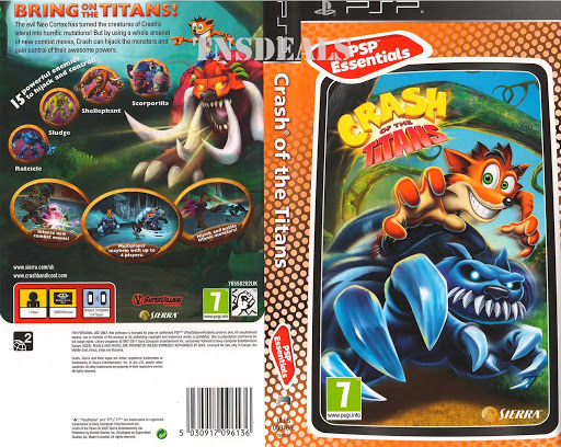 Crash Of The Titans PPSSPP Iso
