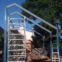 Steel Framework Up