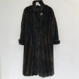 Yves Saint Laurent Fourrures Mink Coat