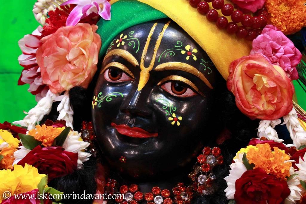 ISKCON Vrindavan Sringar Deity Darshan 01 Mar 2016 (3)