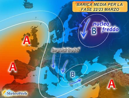 Νέα δεδομένα για την ψυχρή εισβολή στον Ευρωπαϊκό νότο - Τι συνεπάγεται αυτό για την Ελλάδα;