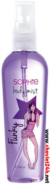 Nước xịt mùi cơ thể Sophie - BMST1