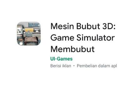 Game Mesin Bubut Untuk Jurusan Pemesinan di Android