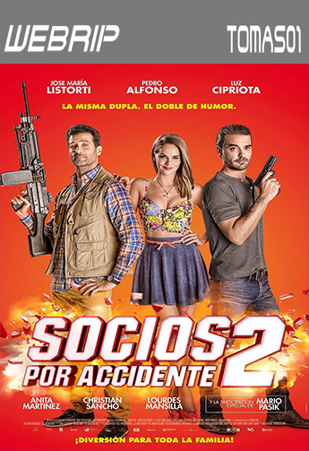 Socios por accidente 2 (2015) WEBRip