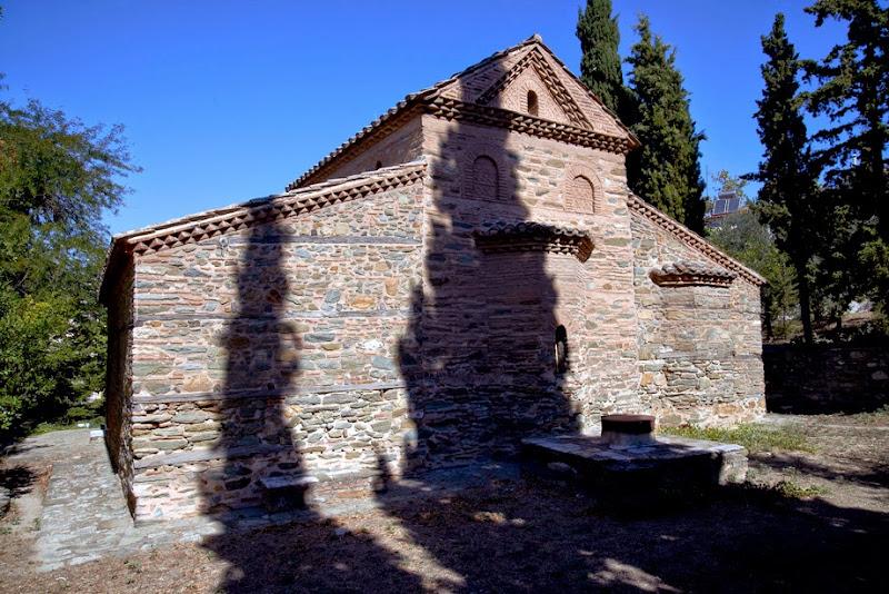 20. The Byzantine Church of Agios Nikolaos Orfanos. XIV Century
