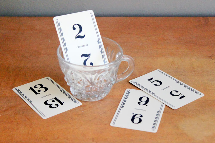Vintage playing cards from the rental inventory of www.momentarilyyours.com, $1.00 each.
