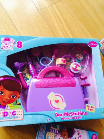 Doctober Doc McStuffins Doctors Bag Set