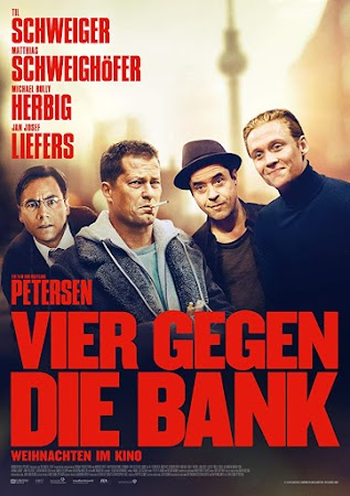 Poster Of Four Against the Bank  2016 In Hindi Bluray 720P Free Download