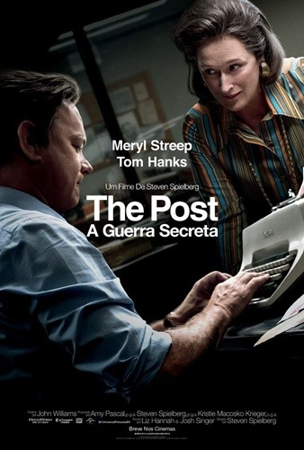 The Post - A Guerra Secreta - Pôster nacional