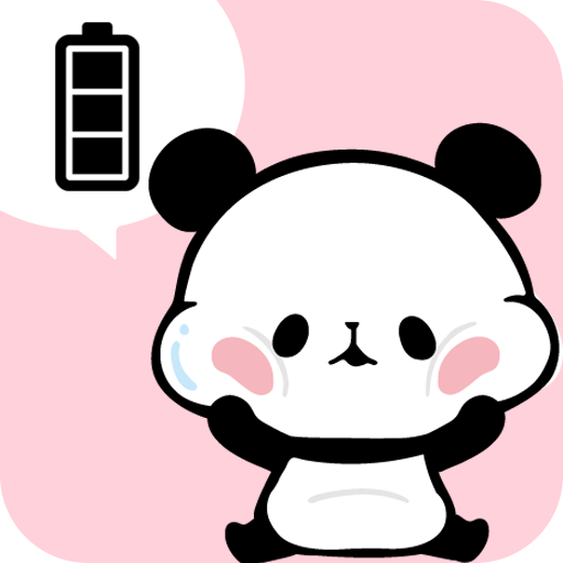 Mochimochipanda Battery Widget (app)