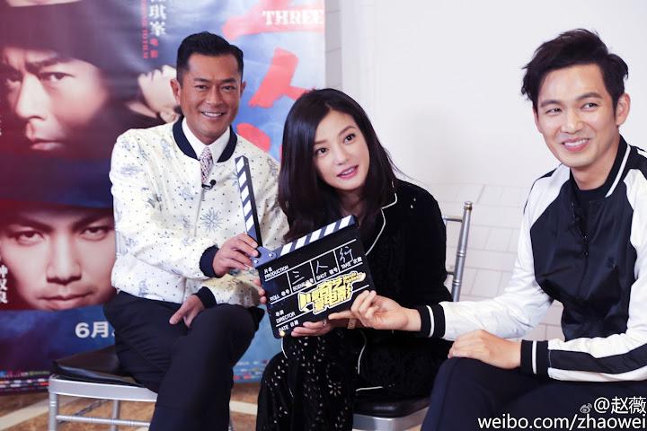 TAM NHÂN HÀNH: Triệu Vy, Cổ Thiên Lạc, Chung Hán Lương kể chuyện làm phim (Clip VIETsub)