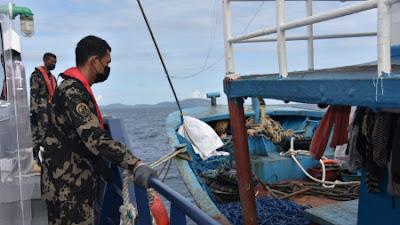 KKP Tangkap Dua Kapal Berbendera Filipina di Laut Sulawesi