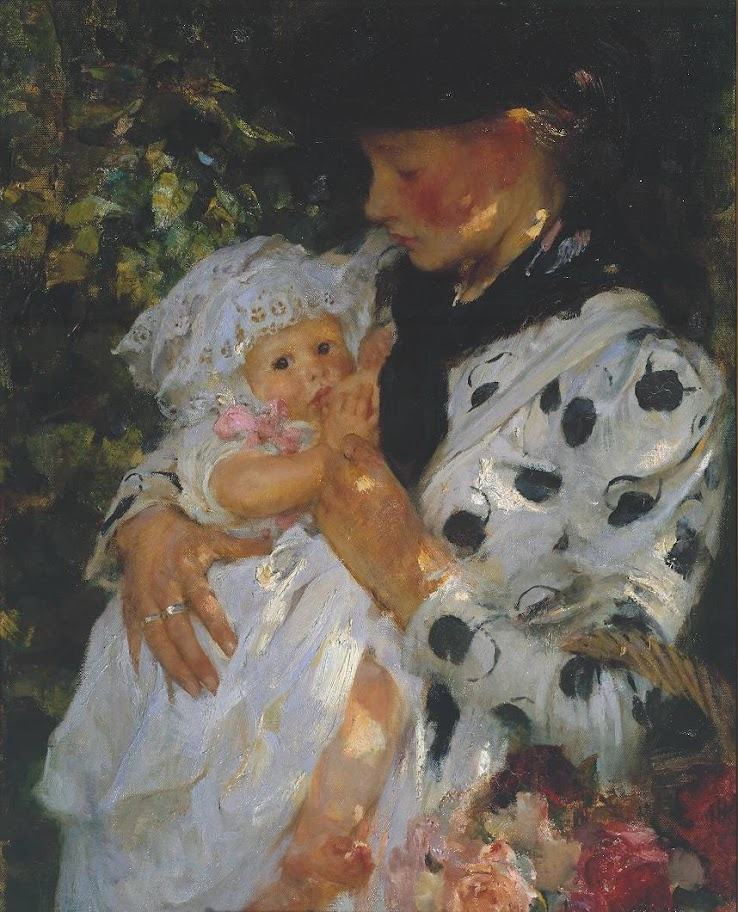 James Jebusa Shannon - The Flower Girl