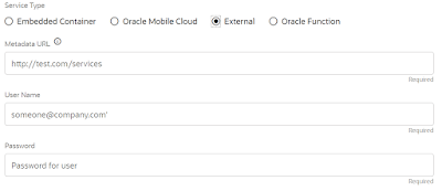 Oracle Digital Assistant - Custom Components Service