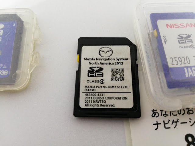 Mazda unlock sd card 2