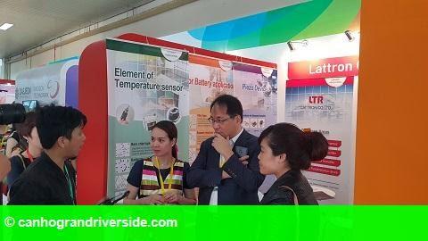 Hình 1: Hội chợ thương mại quốc tế Việt Nam lần thứ 25