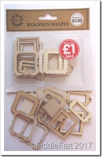 The Works Wooden Shapes Frames